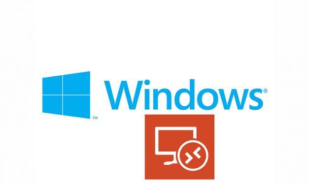 Limitar el acceso por Remote Desktop a una máquina windows